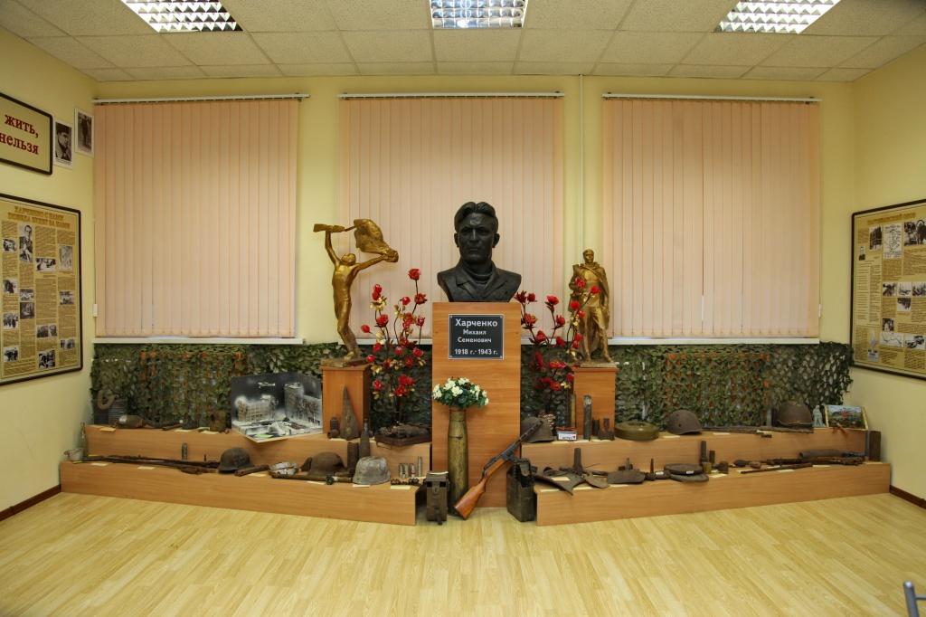 В музее М.С.Харченко.JPG