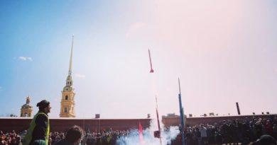 Торжественное мероприятие провели накануне Дня космонавтики в Петропавловской крепости.